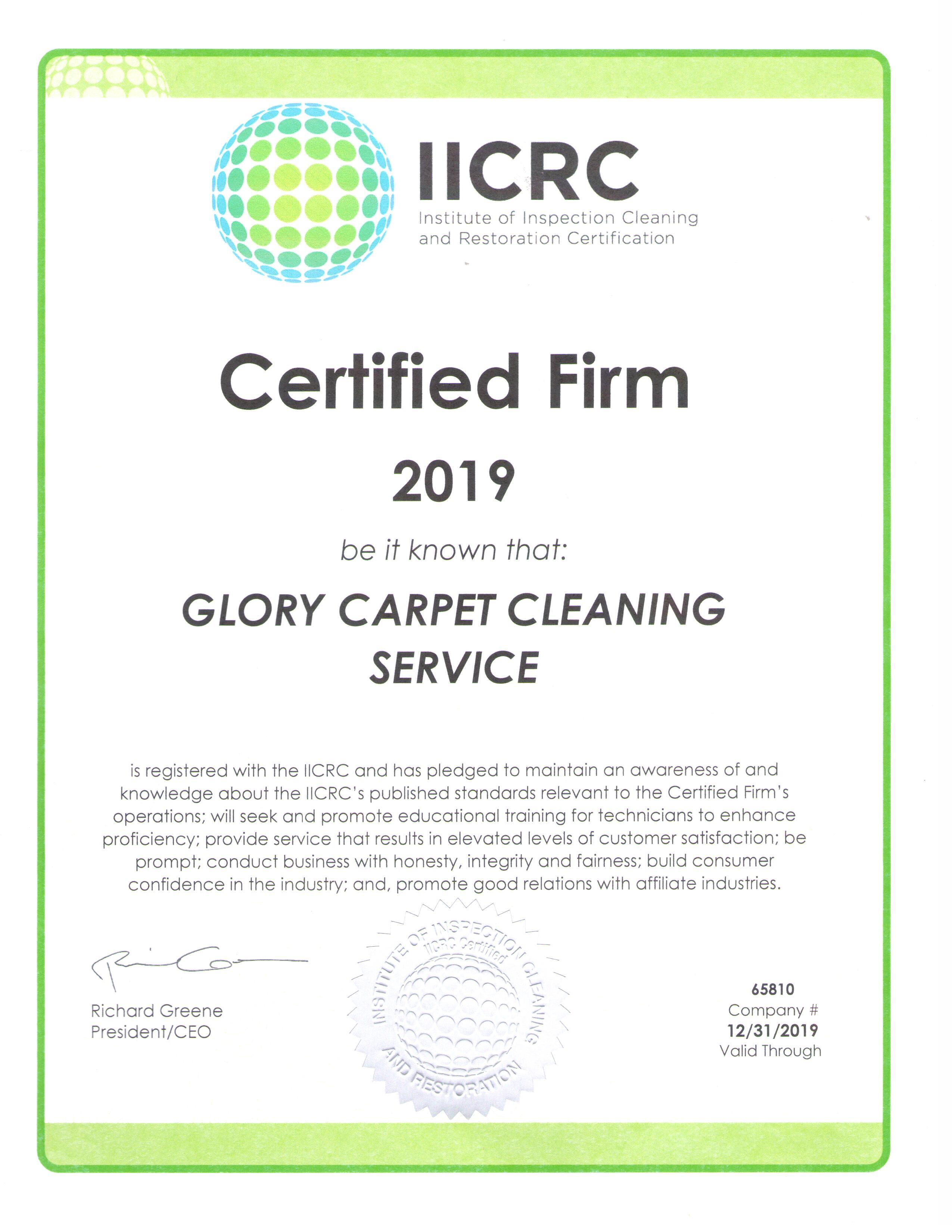 Certified Glory Carpet Cleaning East Hartford Ct